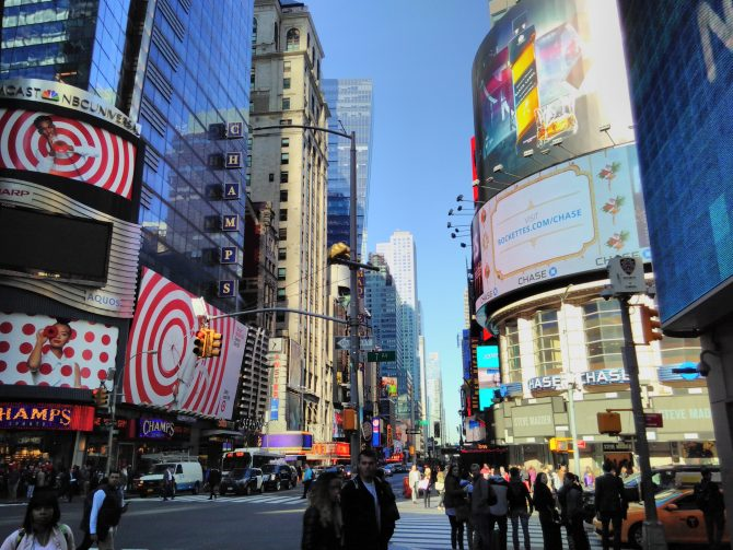 Manhattan – erster Tag