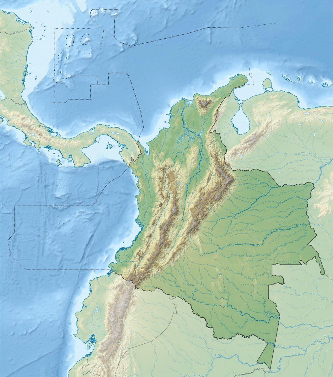 Karte: Kolumbien