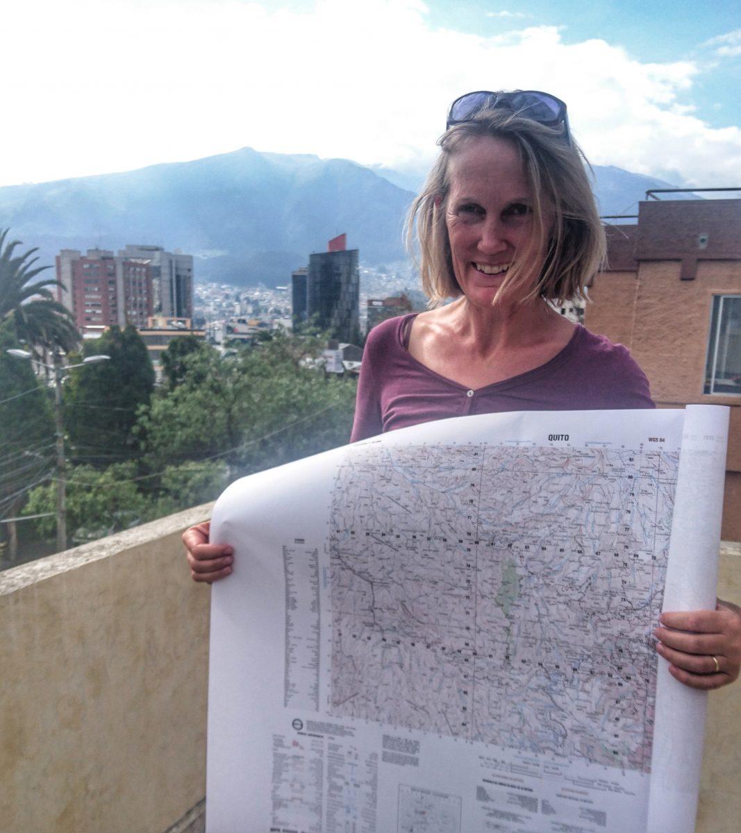 Wanderkarten kaufen in Quito