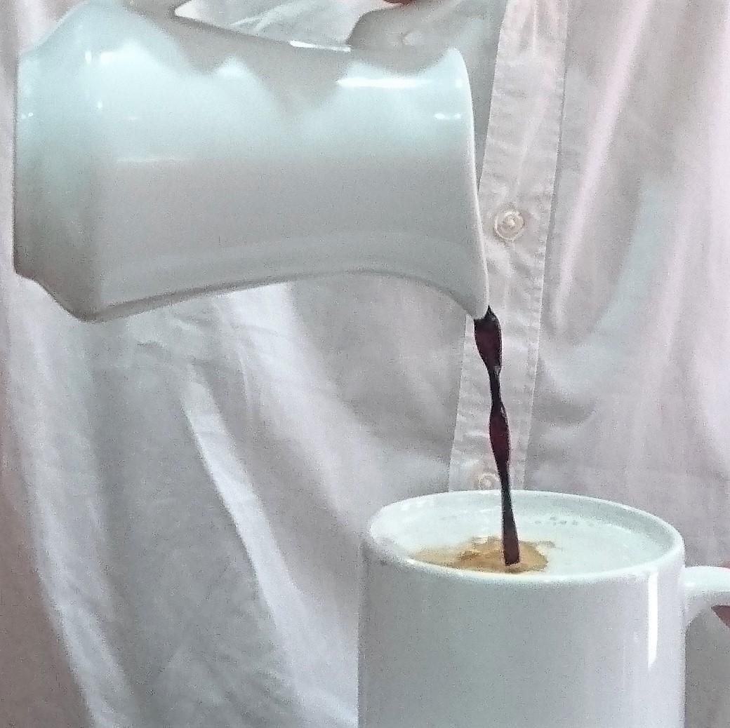 """Wie wird der (kalte) Kaffeesirup hergestellt, der vor 15 Jahren in Quito auf den Tischen stand, um aus heißer Milch einen """"cafe con leche"""" zu machen? (Kolja)"""