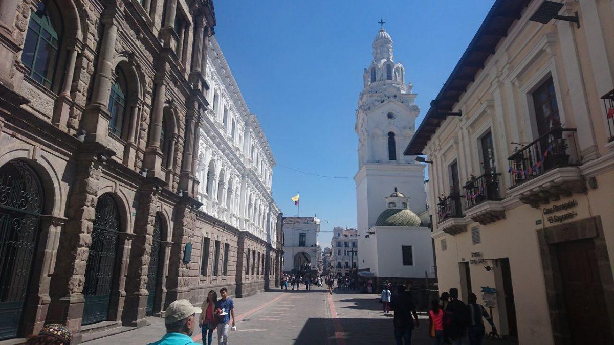 Ein Tag in Quito