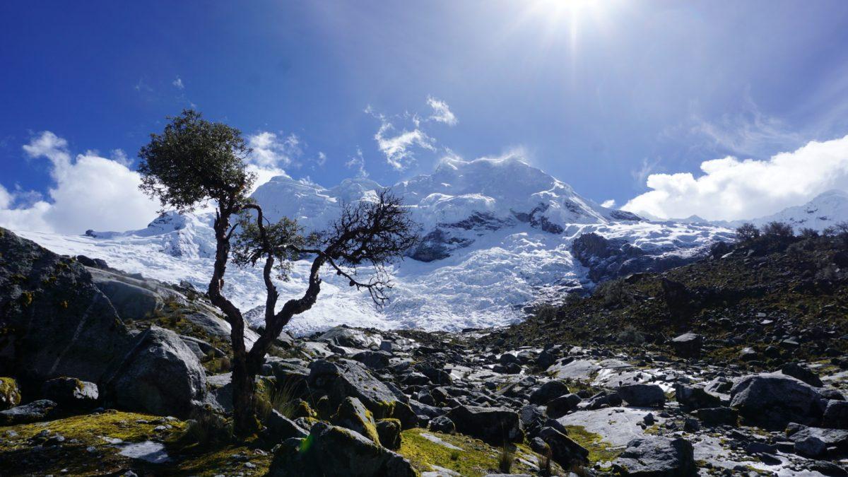 Zelten am Gletscherrand