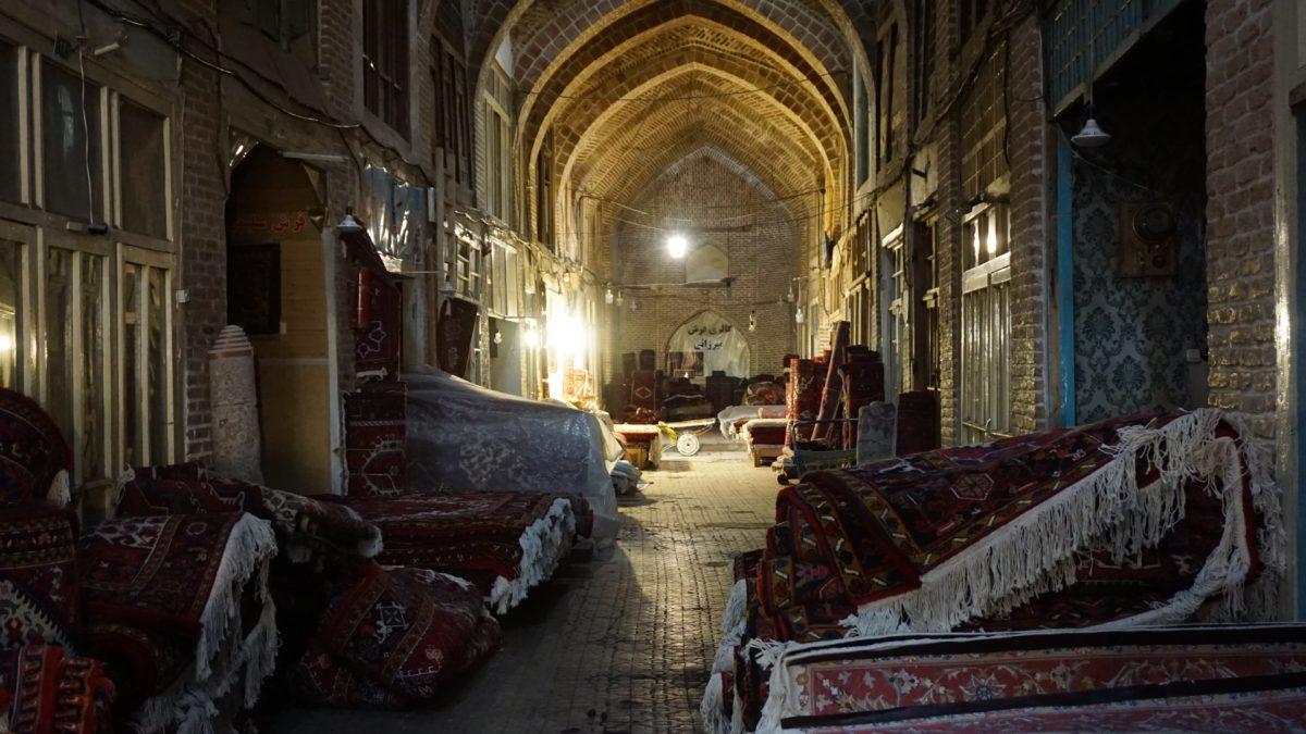 Der Bazar in Täbriz…